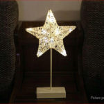 Star Shape Rattan LED Night Light Christmas Wedding Decor
