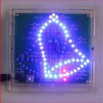 DIY Funny Christmas Shaking Bell Wobbly Windbell Electronic Flash LED Kit