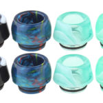 Authentic Skullvape 4-in-1 Epoxy Resin + Acrylic Hybrid 810 Drip Tip (8 Pieces)