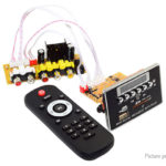 Bluetooth MP3/MP4/MP5 Decoder MTV 1080p Stereo Video Decoding Board