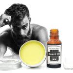 Lanthome Organic Natural Beard Oil + Moustache Care Beard Balm