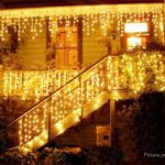 Icicle Styled Dimmable LED Curtain String Light Christmas Wedding Decor (5m)