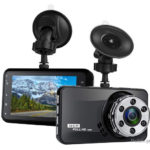 T638+ 3″ LCD HD 1080p Dual Lens Car DVR Camcorder