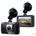 T176-2 3″ LCD 1080p HD Hidden Car Dash Camera DVR Camcorder