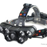 USB Rechargeable Cycling Fishing LED Headlamp