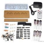 IV-11 Assembled Fluorescent Tube Clock Energy Pillar Kit