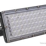 50W Waterproof Outdoor LED COB Spotlight Floodlight