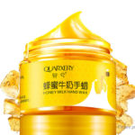 QUARXERY Milk Honey Extract Exfoliating Hand Paraffin Wax Hand Mask (150g)