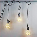 E27 LED String Fairy Light Filament Bulb Wedding Christmas Decor