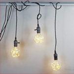 E27 LED String Fairy Light Filament Bulb Wedding Christmas Decor