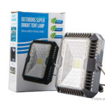 HY-804 Outdoor Solar Powered LED COB Floodlight Spotlight Emergency Light