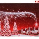 Christmas Snowflake Styled Non-slip Bath Mat Bathroom Floor Rug Carpet (40*60cm)
