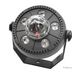 RGB Rotating Magic Crystal Ball PAR Lamp DJ Party Stage Light (US)