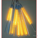 Outdoor Waterproof LED Icicle Meteor Light Christmas Decor