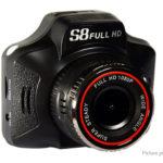 S8 2-in-1 3″ 1080p HD Car DVR Radar Speed Detector
