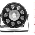 120W RGB DMX Sound Remote Control Lamp DJ Party Stage Light (EU)