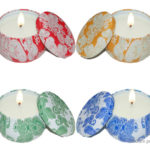 Natural Soy Wax Made Scented Aromatherapy Candle (4 Pieces)