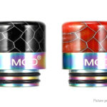 VapeSMOD Stainless Steel + Resin Hybrid 810 Drip Tip (2 Pieces)
