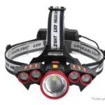 LINHUO LH-252 LED Headlamp w/ Focus Zoom