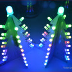 DIY Light Control RGB Full Color LED Christmas Tree Tower Kit