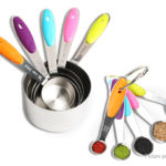 Stainless Steel Measuring Spoon & Cup Kitchen Baking Tool (10 Pieces)