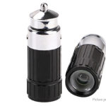 Mini LED Flashlight Charged by Car Cigarette Lighter Socket