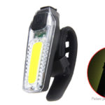 MTB Bicycle COB LED Tail Light Safety Warning Lamp