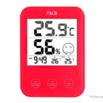 FanJu FJ718 Screen Touch Digital Thermometer Hygrometer