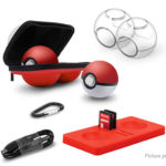 6-in-1 Protective Case Kit for NS Nitendo Switch Pokemon Poke Ball Plus Controller