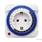 GMT01A-GR Mechanical Timer Switch Socket