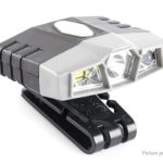 JUJINGYANG Portable Clip-on Infrared Sensor LED Headlamp