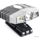 JUJINGYANG Portable Clip-on Infrared Sensor LED Headlamp