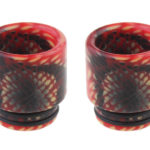 Authentic Skullvape Resin 810 Drip Tip (2 Pieces)