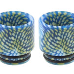 Authentic Skullvape Resin 810 Drip Tip (2-Pack)