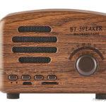 BT01 Portable Mini Vintage Bluetooth V4.1 Super Bass Speaker