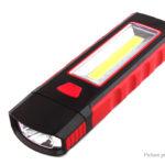 Adjustable COB LED Work Light Magnetic Camping Lantern
