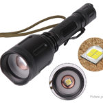 Outdoor Portable LED Flashlight w/ Focus Zoom