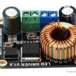UV LED Light + Light-cured Boost LED Driver Board Kit for 3D Printer