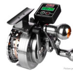 WANLITE C60V Electric Line Counter Right Handed Spinning Fishing Reel