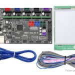 MKS GEN V1.4 Motherboard + 3.5″ Chinese/English Touch Screen Kit for 3D Printer