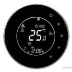 LCD Touch Screen Wifi Electric Heating Thermostat