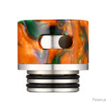 Resin + Stainless Steel Hybrid 810 AFC Drip Tip