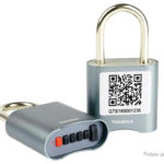 4-Digit Bluetooth Password Padlock Drawer Cabinet Security Lock