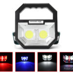 Portable LED Flood Work Light Spot Lamp Camping Lantern