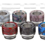 VapeSMOD Stainless Steel + Resin Hybrid 810 Drip Tip Set (8 Pieces)