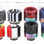 VapeSMOD Stainless Steel + Resin Hybrid 510 + 810 Drip Tip Set (8 Pieces)