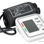 LCD Digital Upper Arm Blood Pressure Monitor Manometer Pulse Meter
