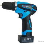 25V Dual Speed Cordless Electric Drill Power Tool (EU)