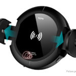 TOTU Car Air Vent Qi Induction Wireless Charger Suction Cup Cell Phone Holder