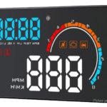 D2500 Car HUD Head Up Display Windscreen Projector